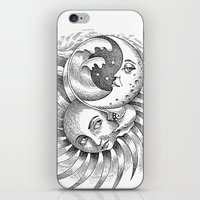 Moon and Sun iPhone & iPod Skin