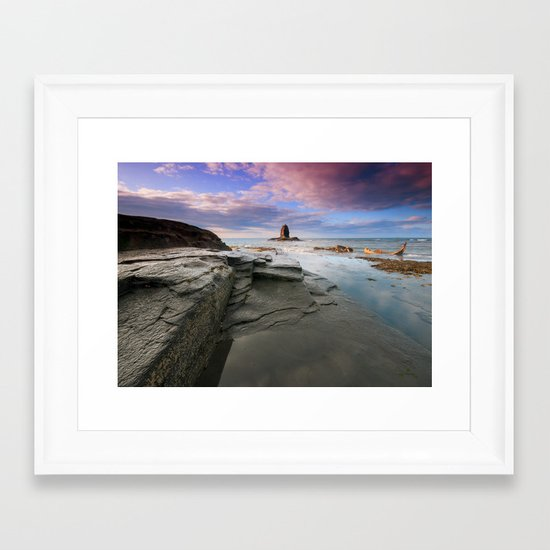 Black Nab Framed Art Print