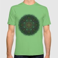 Ferris Wheel 1 Mens Fitted Tee Grass SMALL