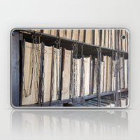 Books in chains Laptop & iPad Skin