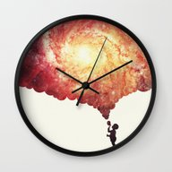 The Universe In A Soap-b… Wall Clock