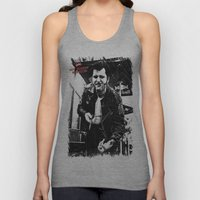 Greaser Johnny Unisex Tank Top