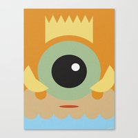 FISHER KING Canvas Print