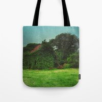 house with ghosts  Tote Bag