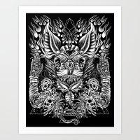 Haunter Of The Dark Art Print