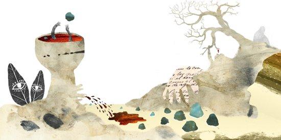 Gabriela Mistral 3 era prosa Art Print