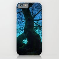Tree under a spangled sky (light) iPhone 6 Slim Case
