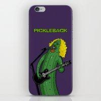 Pickleback iPhone & iPod Skin