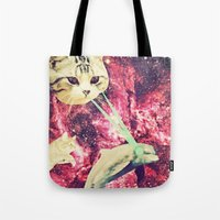 Galactic Cats Saga 2 Tote Bag