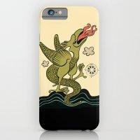 iPhone & iPod Case featuring BASILISCUS by Alberto Corradi