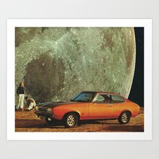 Just another day on earth Art Print