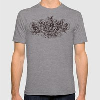 Sins Mens Fitted Tee Athletic Grey SMALL