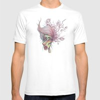 Sorting Through Weeds Mens Fitted Tee White SMALL