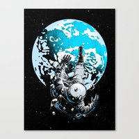 The Lost Astronaut  Canvas Print