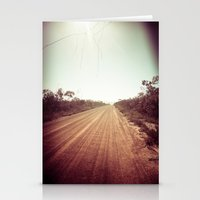 DIRT ROAD Stationery Cards