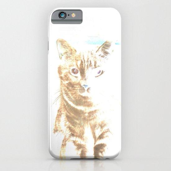 Mr Cat (colors version) iPhone & iPod Case