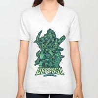 Defense Team Unisex V-Neck