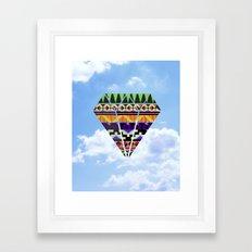 Sky Spirit Framed Art Print