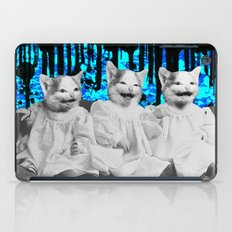 Triple Trouble iPad Case