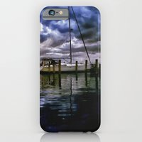 Boat Docks In Edenton iPhone 6 Slim Case