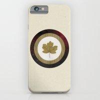 iPhone & iPod Case featuring Leaf Space by  d a n i e l  e s t h e r a s
