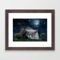 Sweet Dreams with Diesel Framed Art Print