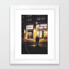 Late Nights Framed Art Print