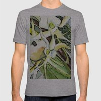 Darwins Orchid Mens Fitted Tee Athletic Grey SMALL
