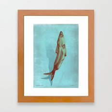 headfish... Framed Art Print