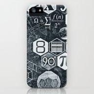 Math Class iPhone (5, 5s) Slim Case