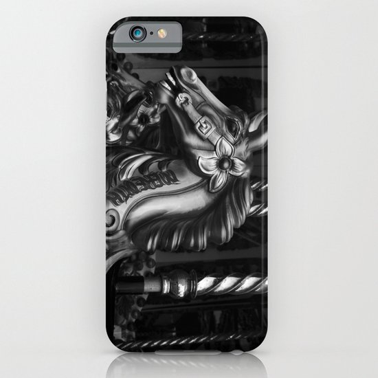 Crazy Horses Mono iPhone & iPod Case