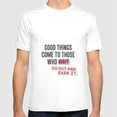 Good Things (Clean version) SMALL Mens Fitted Tee White