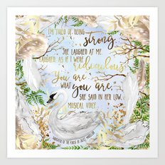 Daughter of the Forest - You Are What You Are Art Print