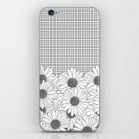 Daisy Grid iPhone & iPod Skin