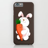 iPhone & iPod Case featuring Bunny Luv! by AnishaCreations