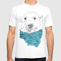 Polar 2.0 Mens Fitted Tee White SMALL