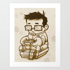 Well Trained Loser Art Print