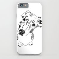 iPhone & iPod Case featuring Mini Dachschund by Caron Lee