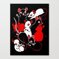 Oh Rats! Canvas Print