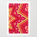 Indian Drugs Pattern 3 Art Print