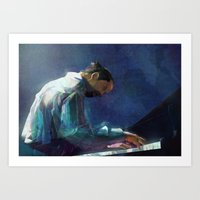 ERIC REED....JAZZ PIANIST Art Print