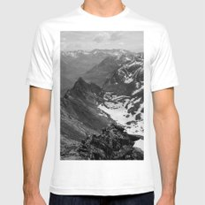 Archangel Valley Mens Fitted Tee White SMALL