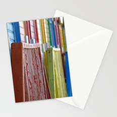 Colorful Wood Stationery Cards
