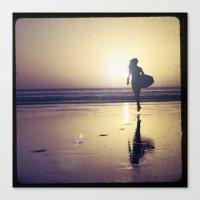 Surf Chick Canvas Print
