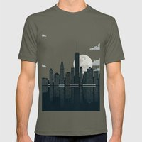 New York City Mens Fitted Tee Lieutenant SMALL