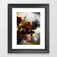 Ink, Love Framed Art Print
