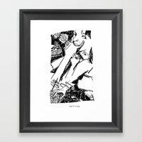 Until The Fingers Began … Framed Art Print