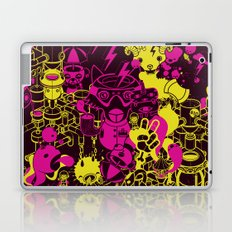 Dream Factory Pink and Yellow Laptop & iPad Skin