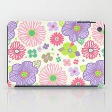 happy flowers iPad Case