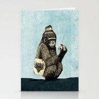 Music Gorilla Stationery Cards